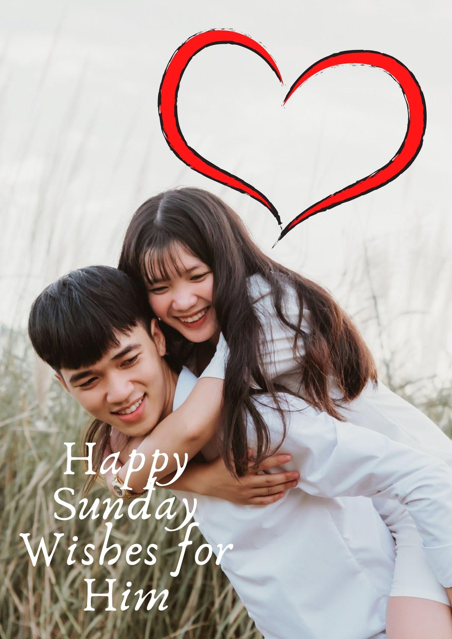Happy Sunday Wishes for Boyfriend