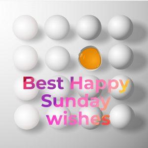 Best Happy Sunday wishes