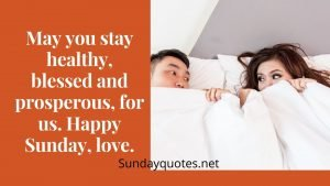 Happy Sunday Messages for Your Wife
